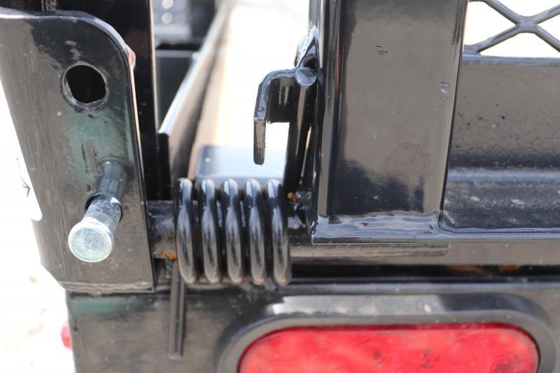 2020 Sure-Trac 7x12 Tube Top ATV Trailer