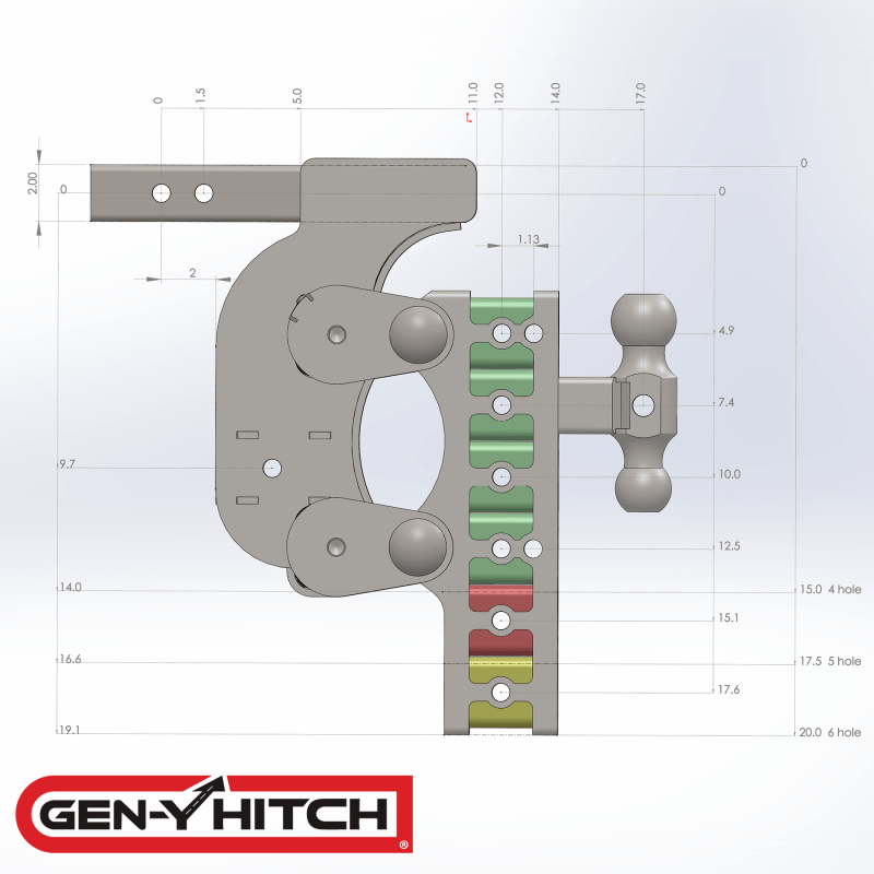2020 Gen-Y Hitch GH-1124