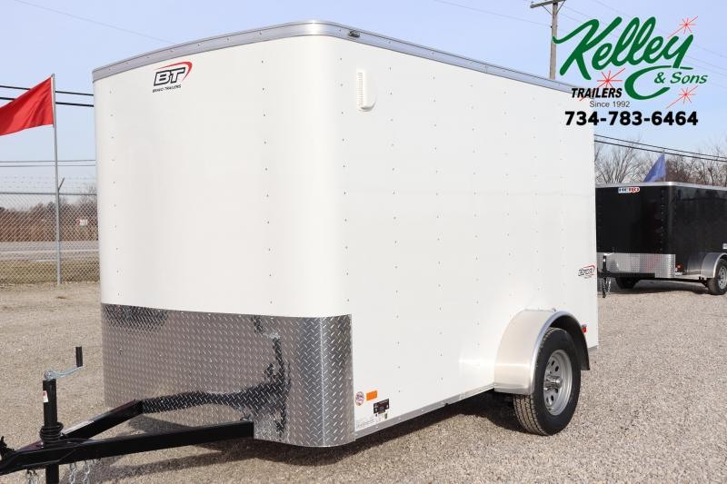 2020 Bravo Trailers 6x10 Scout w/ Ramp Door Enclosed Cargo Trailer