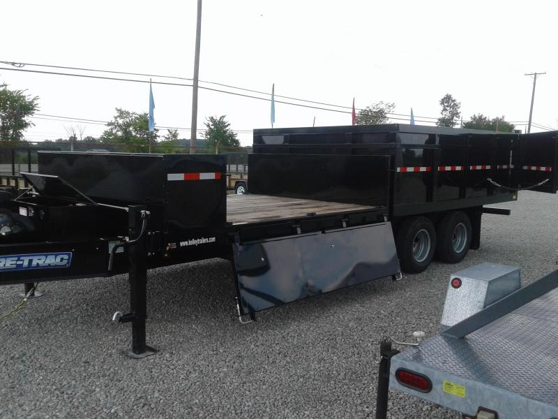 2019 Sure-Trac 8x12x10 25.9K Deckover Scissor Dump Trailer