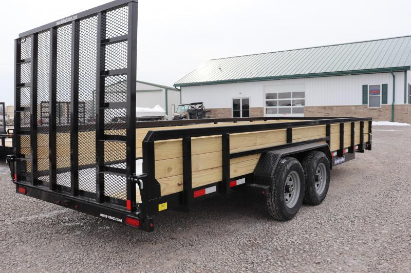2020 Sure-Trac 7x20 10K 3-Board Utility Trailer