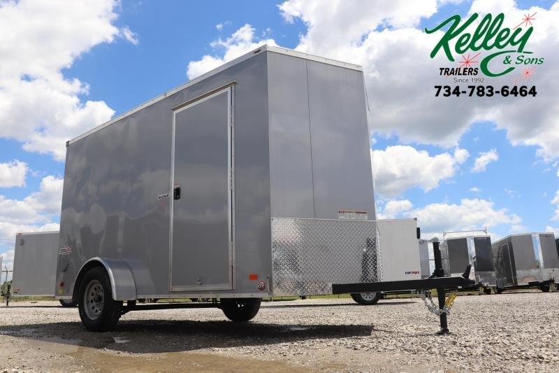 2020 Bravo Trailers 6x12 Scout w/ Ramp Door Enclosed Cargo Trailer