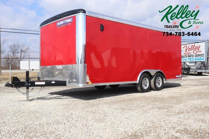 2020 Sure-Trac 8.5x18 10K Landscape Pro RT Cargo Trailer