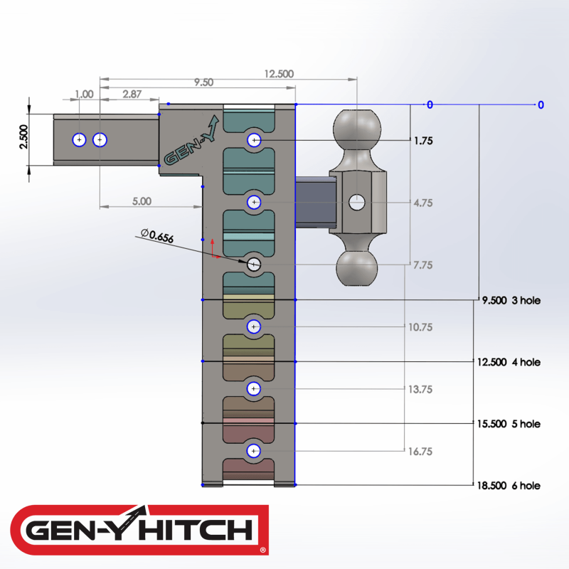 2020 Gen-Y Hitch GH-625