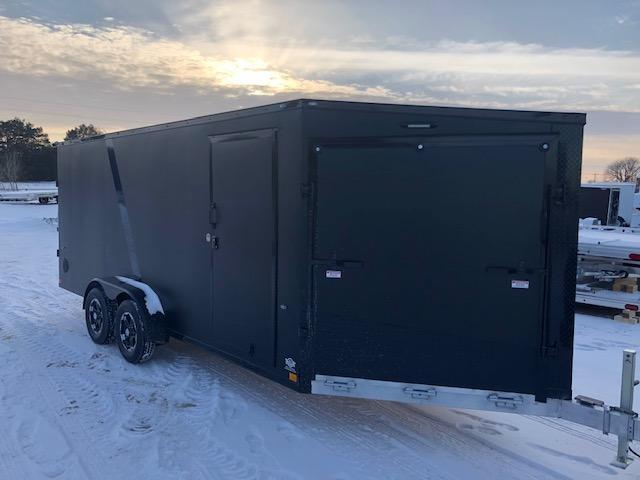 2020 Impact Trailers IMPSZ7x19TE Snowmobile Trailer