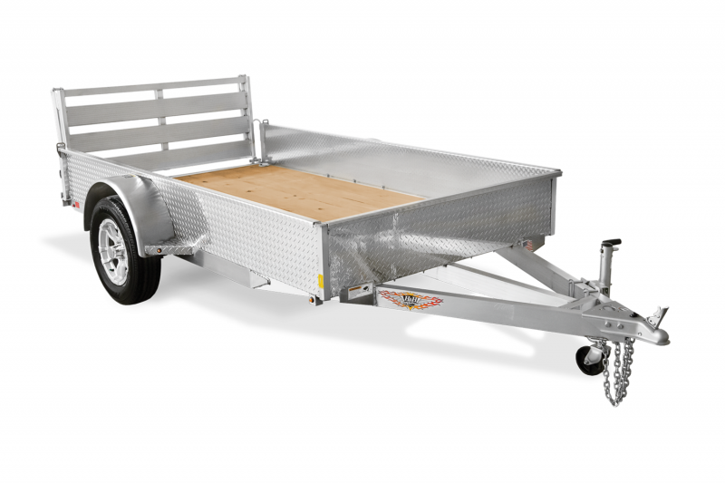 2019 H and H Trailer H8212SSA-030 Aluminum Utility Trailer