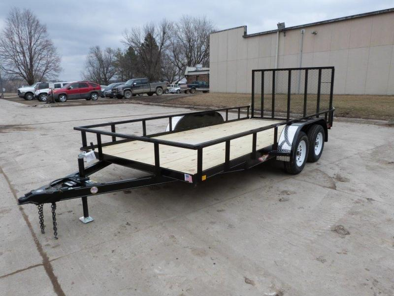 2019 H and H Trailer H8218HTRS-100 Utility Trailer