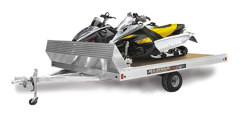 2020 Aluma 8612T Snowmobile Trailer