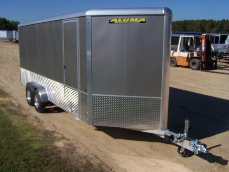 2020 Aluma AE716TAR Enclosed Cargo Trailer