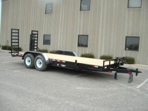 2019 H and H Trailer SKD18+2 14K Heavy Duty Equipment Trailer