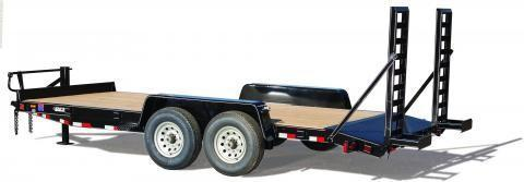 2018 DCT 22MWT-14 Skid loader Trailer - Mini Whale Tail