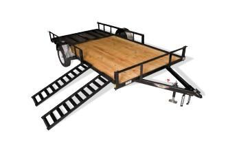2020 H & H Trailers ATV 8212 3K ATV Trailer