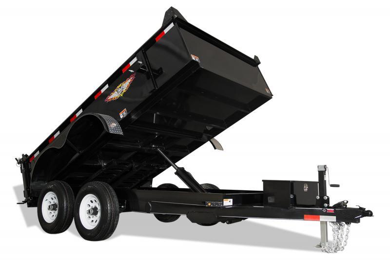 2020 H & H Trailers H7612UD-24-100 Dump Trailer