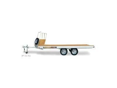 2020 Aluma 8614 EB Snowmobile Trailer