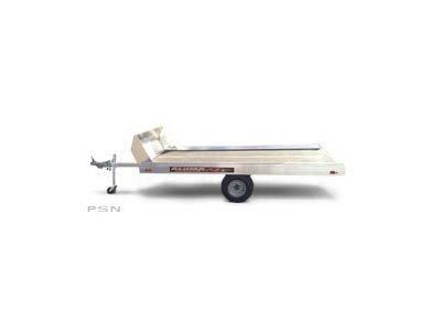 2020 Aluma 8605F Tilt Bed Snowmobile Trailer