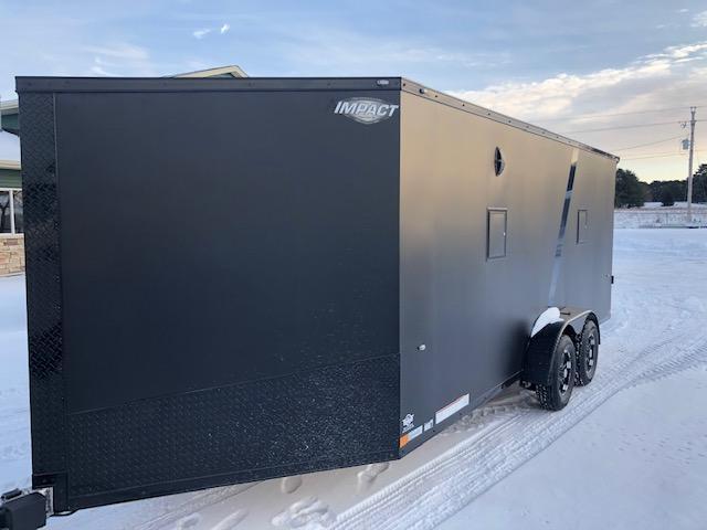 2020 Impact Trailers IMPSZ7x23TE2 Snowmobile Trailer