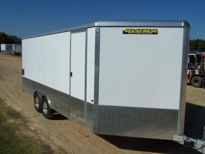 2020 Aluma AER820TA Enclosed Cargo Trailer