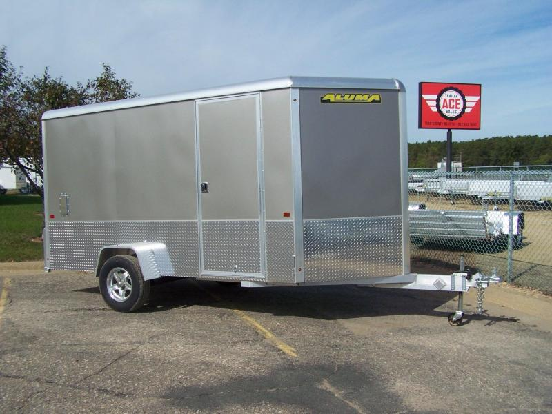 "2020 Aluma AE612M +6"" Sport Enclosed Cargo Trailer - CHARCOAL"