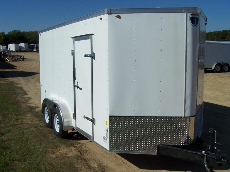 2019 Interstate SFC714TA2 Enclosed Cargo Trailer - Pewter