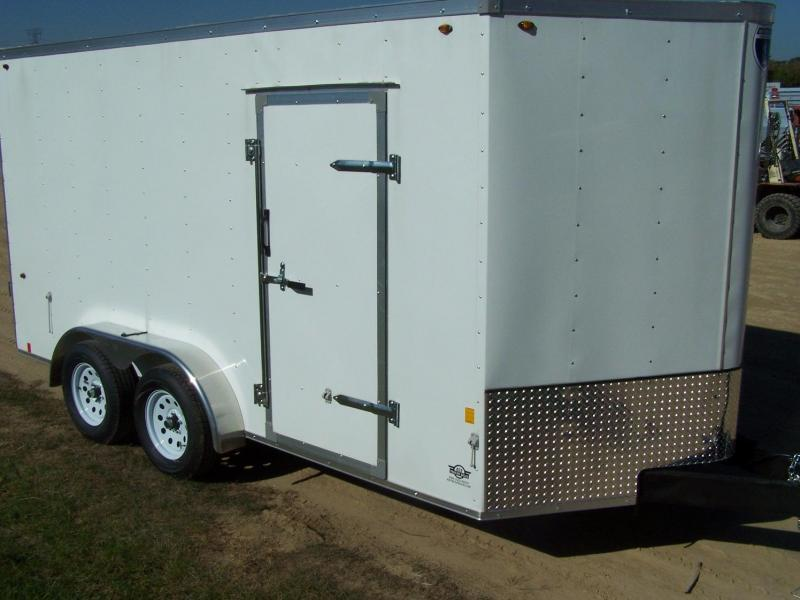 2019 Interstate SFC714TA2 Enclosed Cargo Trailer - Pewter