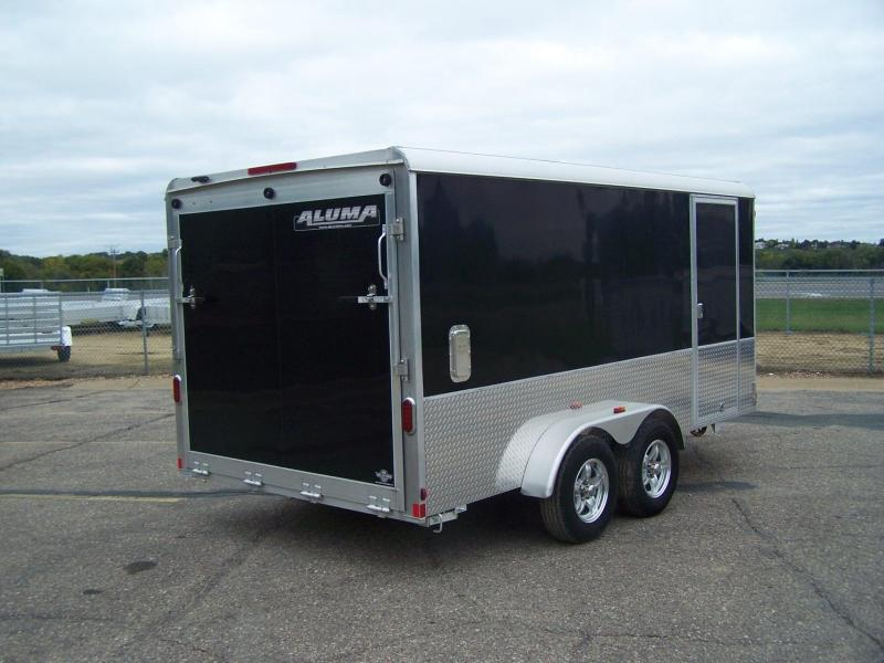 "2019 Aluma AE714TAM +6"" Sport Enclosed Cargo Trailer"