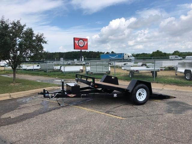 2019 H and H Trailer H7812GTL-07 Heavy Duty Tiltbed Trailer