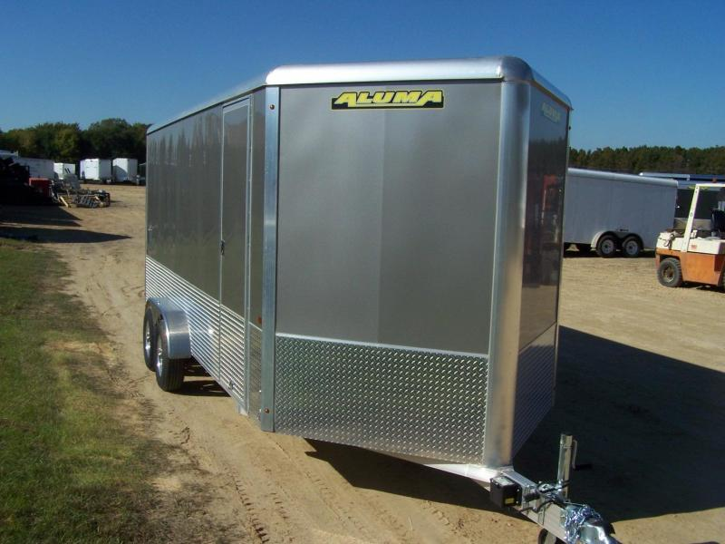 2020 Aluma AE718TAM Enclosed Cargo Trailer