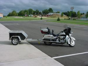 2018 Aluma MCTXL Motorcycle Trailer