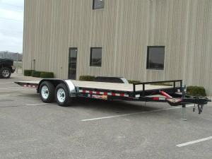 2020 H & H Trailers MXT8220 10K Manual Tilt Bed Car Hauler