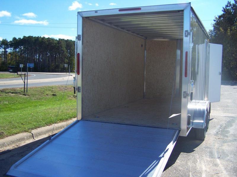 2020 Aluma ESW714TAR Enclosed Cargo Trailer - CHARCOAL