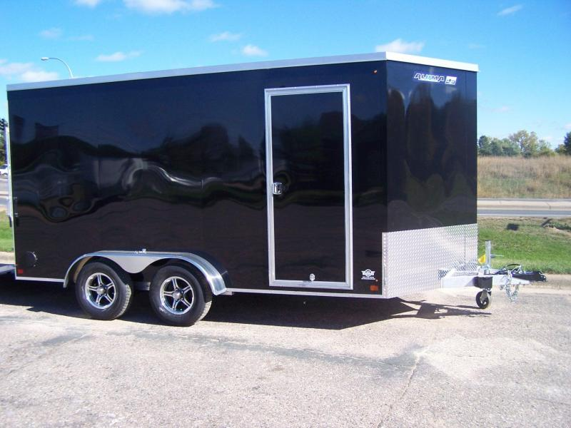 2020 Aluma ESW714TAR Enclosed Cargo Trailer - CHARCOAL