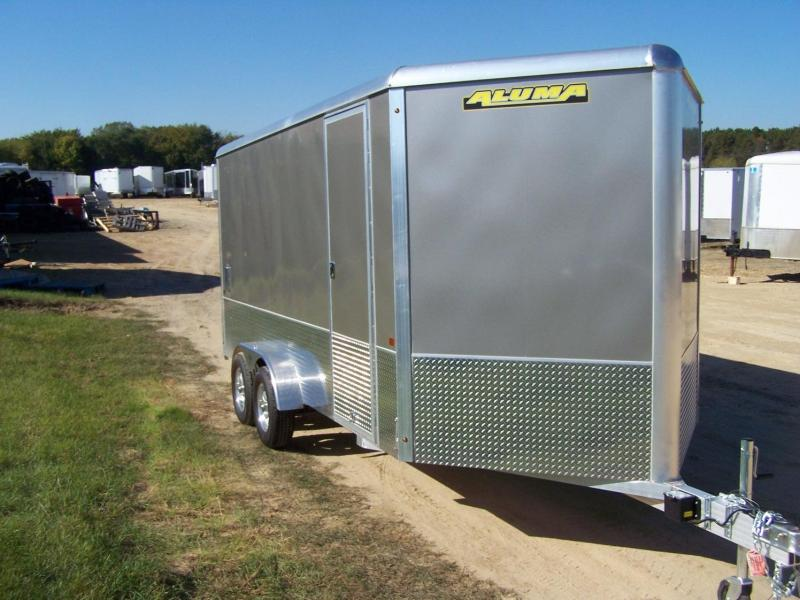 2020 Aluma AE716TAM Enclosed Cargo Trailer