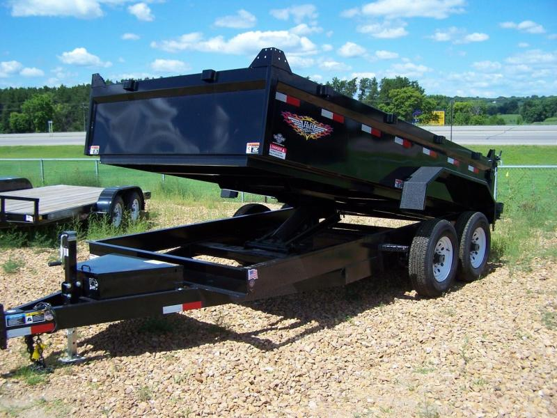 2019 H and H Trailer H8314DBW-B-140 Dump Trailer