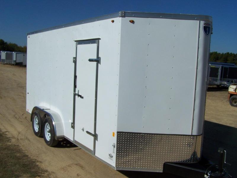 2020 Interstate SFC716TA2 Enclosed Cargo Trailer - CHARCOAL