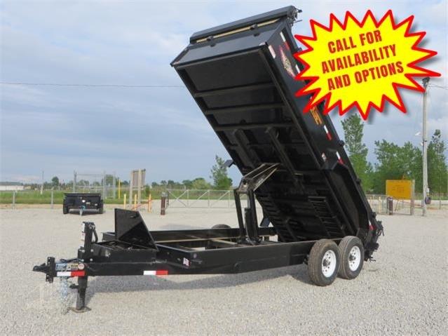"""New H&H 83""""x16' Dump 14000#"""