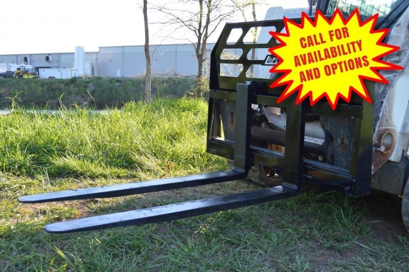 """New Loflin Fabrication 48"""" Pallet Forks 4000#"""