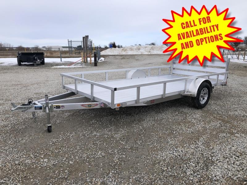 "New H And H Aluminum 82""x14' W / Aluminum Floor"
