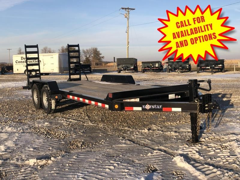 New Norstar 20' Skid Loader Trailer 14000#