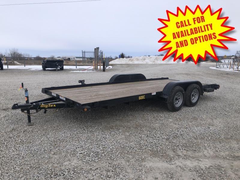 """New Big Tex 83""""x18' Car Hauler W / Ramps"""