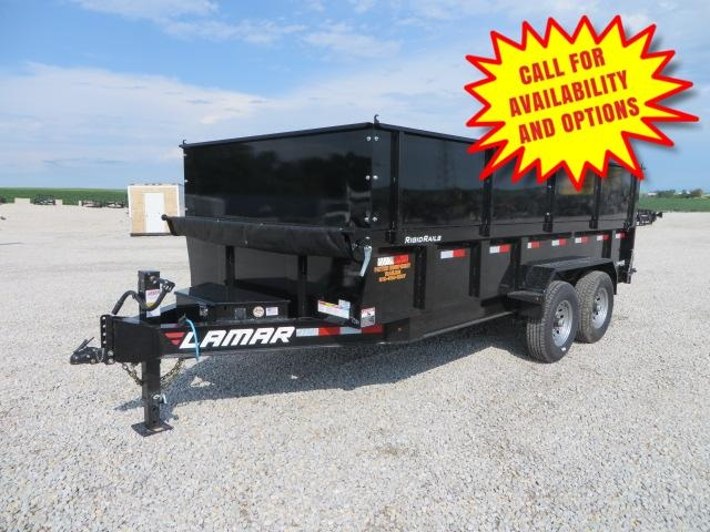 "New Lamar 83""x16' Dump W / Extensions 14000#"
