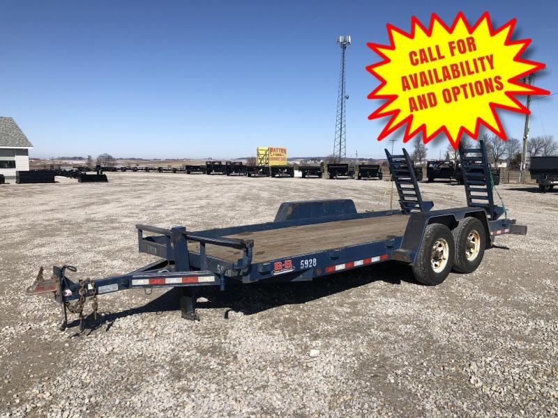 2015 B-B 18' Skid Loader Trailer 14000#
