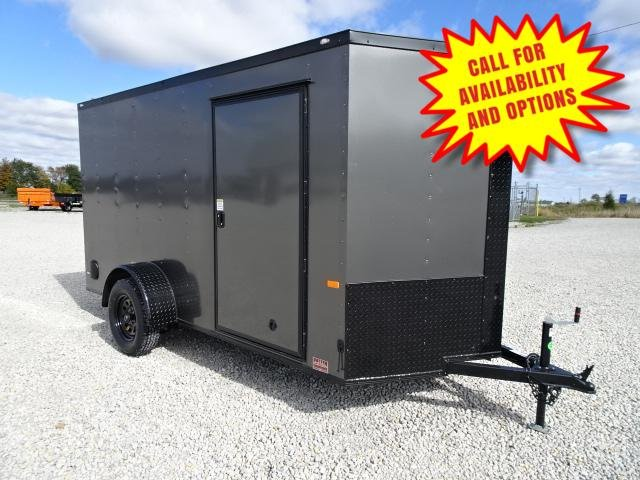 New Rock Solid 6'x12 Gray W / Blackout Package