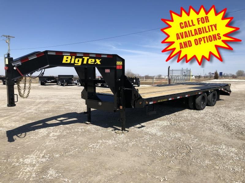 New Big Tex 33' Gooseneck 23900#