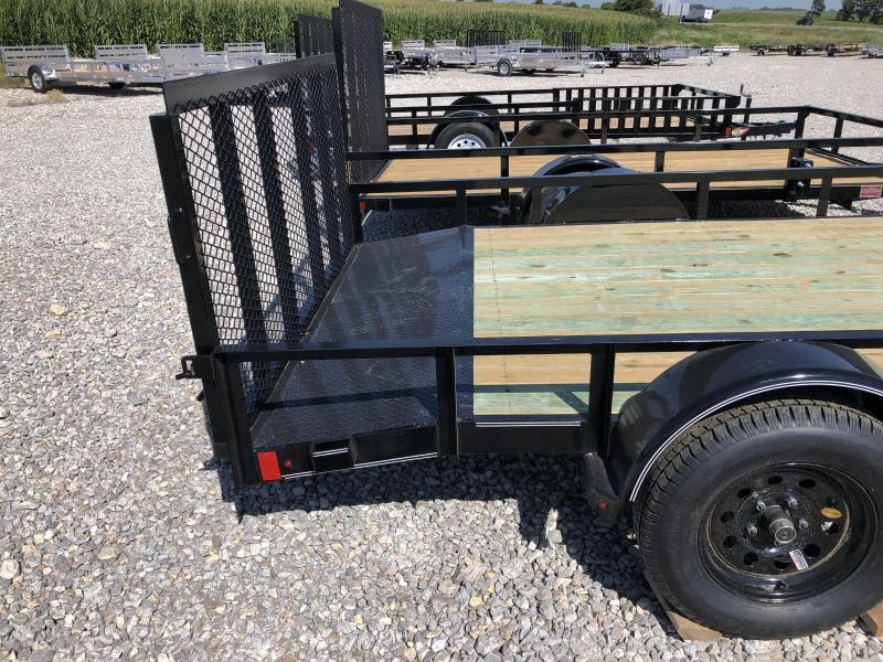 "New Lamar  83""x14' Heavy Duty W / Side Ramps"