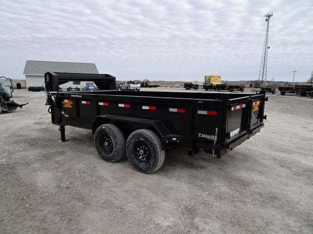 "New Lamar 83""x16' Gooseneck Dump 14000#"
