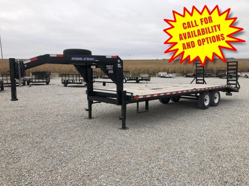 2012 Sure-Trac 24' Gooseneck 14000# Like New