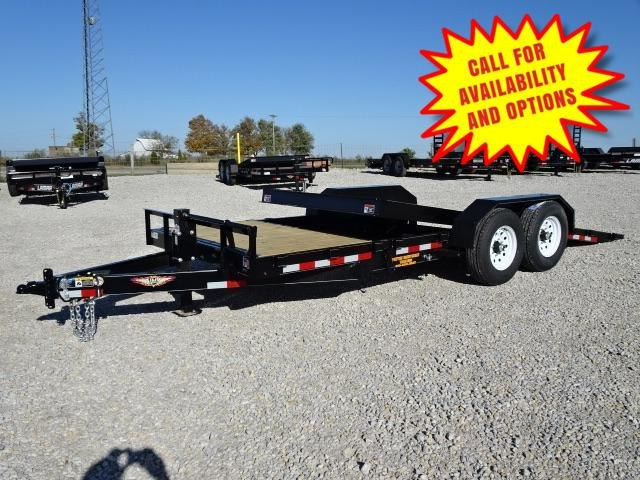 2019 H and H Trailers GTL 18'+4' Gravity Tilt 14000#