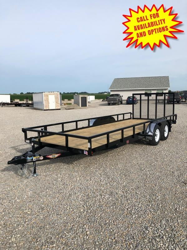 "New H&H 82""x20' W / Forward Folding Gate 7000#"