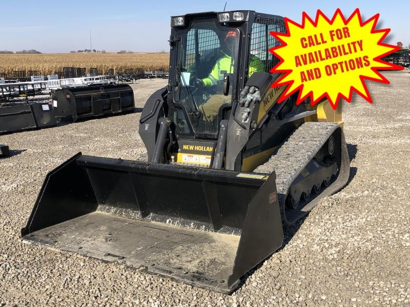 New 7' Snow & Litter Bucket W / Bolt On Edge