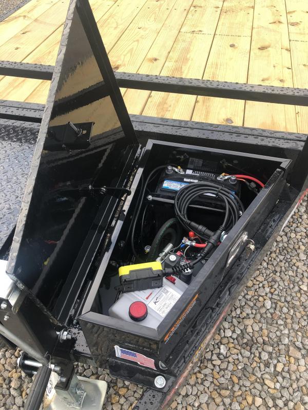 """New H & H 82""""x20' Power Tilt 9990#"""